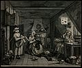 The distressed poet is visited in his abode by an angry milk Wellcome V0049240.jpg