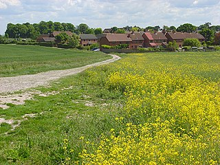 All Cannings village in the United Kingdom