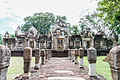 The entrance of Prasat Sadok Kok Thom historic site at Sa Kaeo Province in Thailand.jpg
