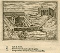 The house of Caiaphas in Jerusalem, according to tradition, and other historical buildings - Zuallart Jean - 1587.jpg