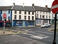 The junction of English Street at Church Street, Downpatrick - geograph.org.uk - 1526511.jpg