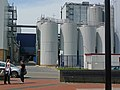 The new new dairy-plant, milk factory in Beilen; Midden Drenthe - photo agriculture in the Netherlands, 2012.jpg