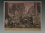 The plague of the Philistines at Ashdod. Engraving by S. Pic Wellcome V0010648.jpg