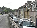 The terraced houses below the A5 seen from the west - geograph.org.uk - 868508.jpg
