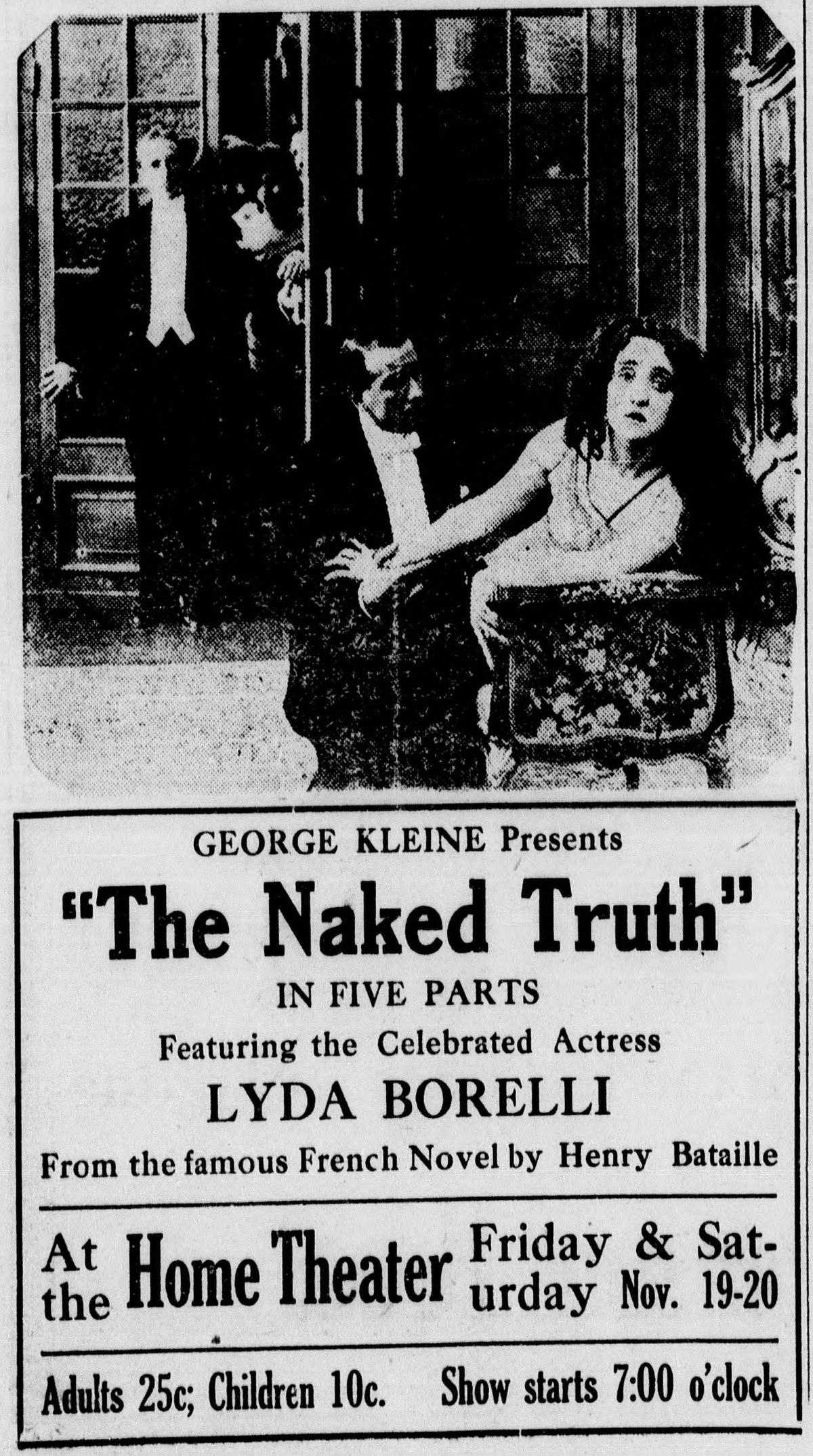 The Naked Truth (1914 film)