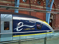There's my train - Eurostar for Paris about to leave - Flickr - TeaMeister.jpg