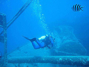 Diving the SS Thistlegorm, Sharm El Sheikh, So...