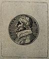 Thomas Parr, aged 152. Line engraving after T. Simon. Wellcome V0007251ER.jpg