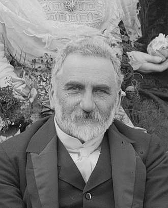 Thomas William Hislop - Portrait of Thomas Hislop in 1908