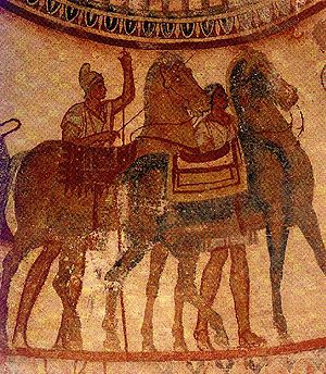 Thracian Tomb of Kazanlak - Image: Thracian Tomb of Kazanlak