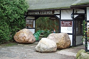 Essehof Zoo - Zoo Entrance