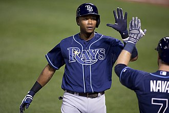 Tim Beckham - Beckham with the Tampa Bay Rays in 2015