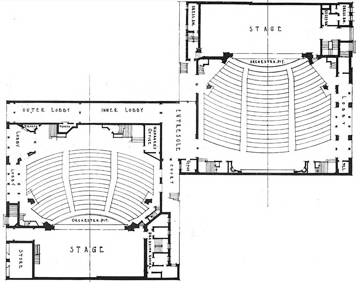 File Times Square And Apollo Theaters First Floor Plan Jpg Wikimedia Commons