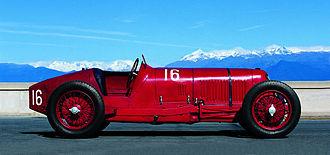 Maserati Tipo 26 - Image: Tipo 26