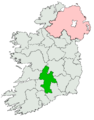 Tipperary Mid, North and South Dáil constituency 1921-1923.png