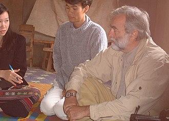 Jean-Paul Gonzalez - Jean Paul Gonzalez conducting public health interview in Laos