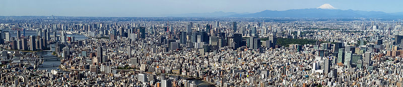 File:Tokyo from the top of the SkyTree (cropped).JPG