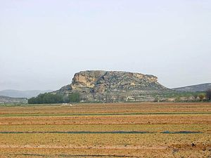 Contestani - Eastern side of Tolmo de Minateda hill near Hellín.