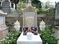 Tombe de Jean-Claude Brialy au cimetière de Montmartre à Paris.JPG