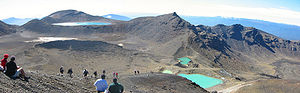 Tongariro Crossing Emerald Lakes Blue Lake.jpg