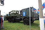 Tor-M2 missile reloader on a Tata truck at 2013 MAKS Airshow.jpg