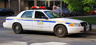 Ontario Provincial Police - Previous colour-scheme used until 2007