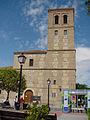 Torre de iglesia de San Vicente Mártir en Paracuellos de Jarama.jpg