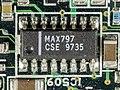 Toshiba Satellite 220CS - power supply and interface board - Maxim MAX797-4739.jpg