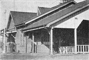 Totsuka Station - Totsuka Station, circa 1934