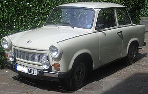 Trabant 601 - A 1988 Trabant 601 S DeLuxe.