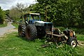 Tractor and circular saw - geograph.org.uk - 1302208.jpg
