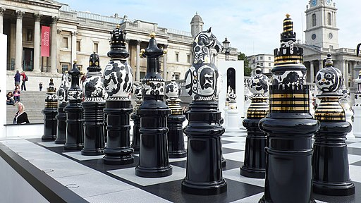 Trafalgar Square, London - geograph.org.uk - 1707872