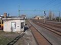 Train station, rail scale and depot, 2019 Mezőtúr.jpg