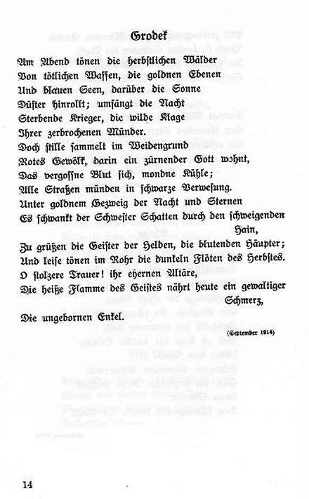 Georg Trakl Wikiwand
