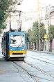 Tramway in Sofia in Alabin Street 2012 PD 012.jpg