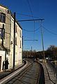 Travaux de la branche vers Vieux-Condé de la ligne B du tramway de Valenciennes en décembre 2013 (242).JPG