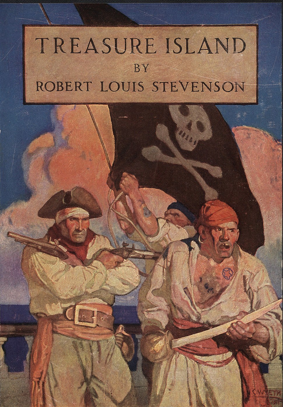 Treasure Island-Scribner's-1911