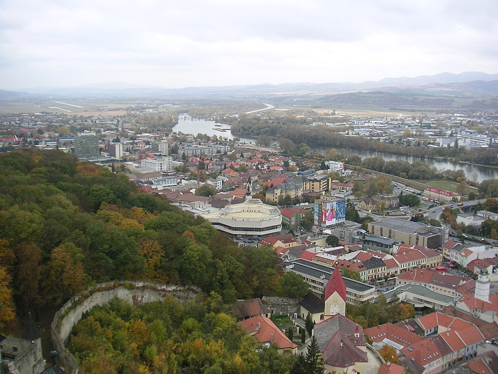 Trencin (south-western part)
