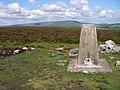 Trig on Mynydd Llangynidr - geograph.org.uk - 448728.jpg