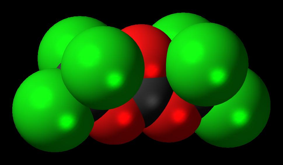 Triphosgene-3D-spacefill