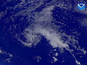 2003 Atlantic hurricane season - Image: Tropical Depression Two (2003)