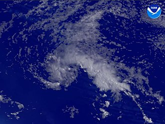 2003 Atlantic hurricane season - Image: Tropical Depression Two (2003)