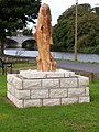 Trout Sculpture - geograph.org.uk - 1524156.jpg