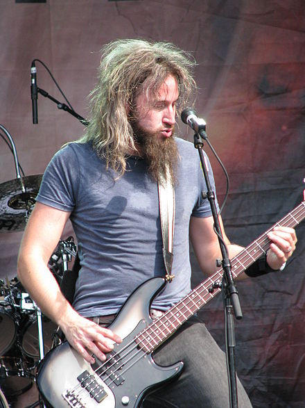 Troy Sanders with Mastodon at Sonisphere, Stockholm in 2011 Troy Sanders at Sonisphere, Stockholm 2011.JPG