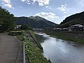 Tsuwanogawa River near Mori Ogai Memorial Museum (south) 2.jpg
