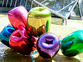 Tulips sculpture Jeff Koons Nord-LB office building Hanover Germany 02.jpg