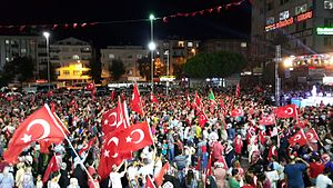 "Democracy and National Unity Day - ""Democracy Watch"" in İstanbul, 2016"