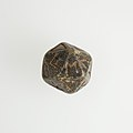 Twenty-sided die (icosahedron) with faces inscribed with Greek letters MET 10.130.1157 002.jpg