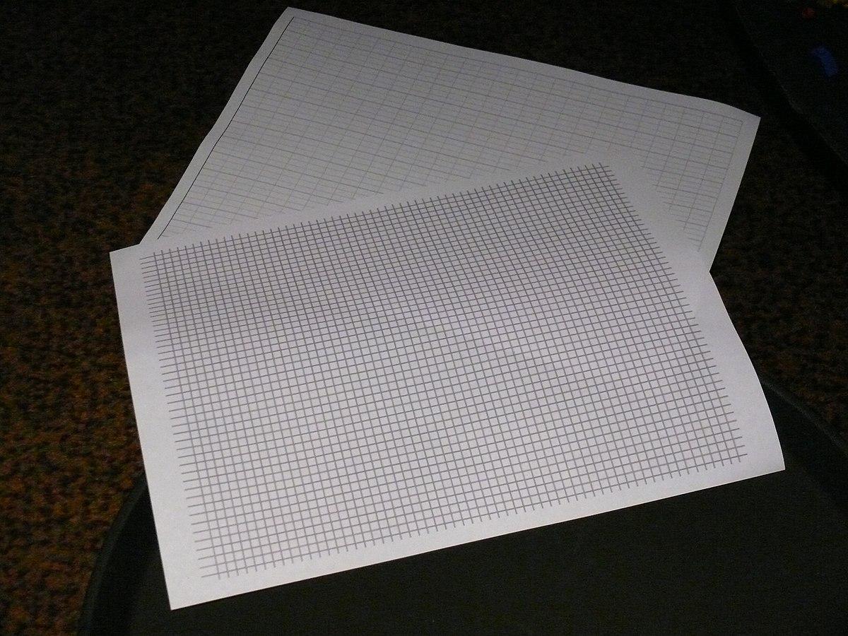 Graph paper - Wikipedia - photo#5