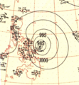 Typhoon Iris analaysis 4 May 1951.png